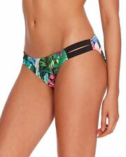 NWT Body Glove Swimsuit Bikini Bottom Size M Side Stripe Selva