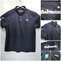 Bunker Mentality Mens XL Golf Shirt Polo Black