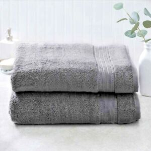 Charisma 70x35 Luxury Bath Sheet Extra Large Bath Towel 100% Hygrocotton 2 Piece