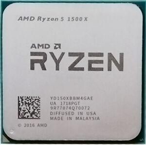 AMD Ryzen 5 1500X R5 1500X 3.5 GHz Quad-Core Eight-Core CPU Processor