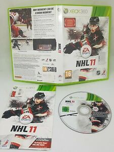 NHL 11 Video Game for Microsoft Xbox 360 PAL TESTED
