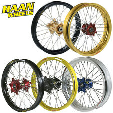 HAAN WHEELS Radsätze Räder Radsatz Wheel set Motocross Enduro Supermoto Kidcross