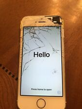 Apple iPhone 5s - 32GB - Silver Bad ESN For Parts Only A1533