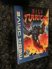 Mega Turrican SEGA Mega Drive PAL Version - Custom Game - Grade AAA+++