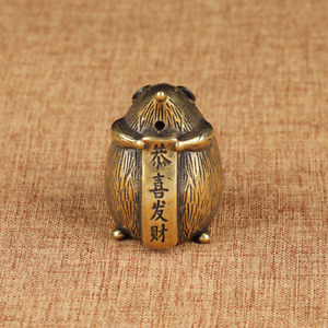Solid Brass Mouse figurines Small Mouse Statue House Decoration Animal Figurine