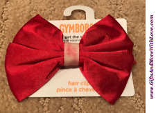 Gymboree NWT 1-pc Red HOLIDAY MEMORIES GLITTER BOW DRESS HAIR PIN ACCESSORY ~ OS