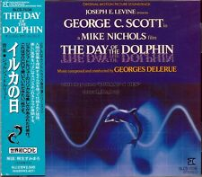 "Georges Delerue ""THE DAY OF THE DOLPHIN"" soundtrack Japan SLC CD out of print"