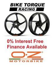 Black OZ Piega Wheels Kawasaki ZX-10R 04-05 Interest Free Credit Available