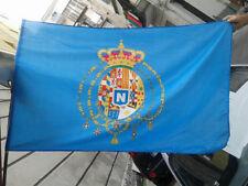 bandiera napoli partenopei con stemma  san gennaro 100x150 cm forza azzurri