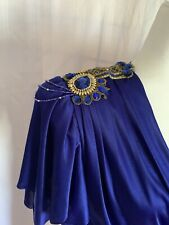 Vintage 80s Abbey Kent Jewelled Formal NWOT Rouched Dress Size 8 - A9