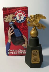 Texas Rangers 2011 American League Champions Replica Trophy in box