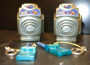 x2 Hit Clips Micro Groove Machine w Mic & FM Radio Cartridge Karaoke