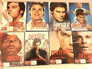 DEXTER | The Complete Series | Season 1 - 8 | DVD  R4 🇦🇺 Aus