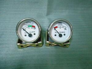 Allis Chalmers   Electrical Temperature Gauge   Fuel Gauge