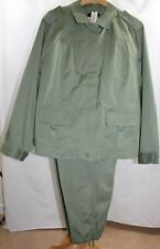 Talbots Women's Cargo 2-Piece Pant Suit - Size 24W - Olive Green NWT - SM28