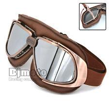 Motorcycle Helmet Goggles Glasses Eye Patches Anti-Fog Retro For Harley Davidson