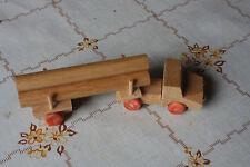 Holzspielzeug, Langholzschlepper, Ostalgie Original DDR Spielzeug, wooden toys