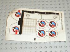 Autocollant LEGO sticker ref 60078stk01 -20808 6109072/Set 60078 Utility Shuttle