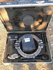 "Tri-Tool 612Sb Clamshell Lathe 10�-12"" Pipe Split Frame & Accessories W/ Torque"