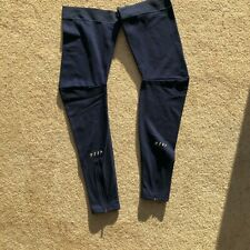 MAAP THERMAL LEG WARMERS NAVY LARGE NEW