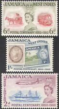 Giamaica 1960 TRASPORTI POSTALI/Cavallo/carrello/Furgone/SPEDIZIONE/Piano/S-On-S/STAMP 3v (n42113)