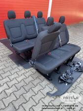 Set Sedile Triplo Bench FIAT TALENTO TRAFIC OPEL VAUXHALL VIVARO NV300 cinture sedili