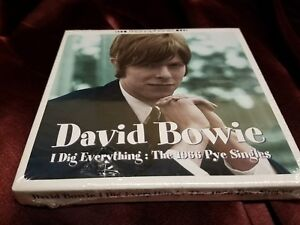 David Bowie – I Dig Everything The 1966 Pye Singles - 2000 UK 3xCD Box Set New!