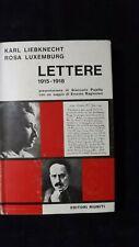 Liebknecht, Luxembourg: Lettere 1915 - 1918 Editori Riuniti, 1967