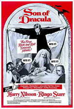 SON OF DRACULA Movie POSTER 27x40 Harry Nilsson Ringo Starr Dennis Price Suzanna