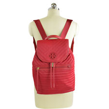 NWT Tory Burch Quilted Nylon Back Pack Backpack in  Kir Royal