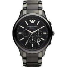 Brand New Emporio Armani AR1451 Men's Ceramica Chronograph Watch