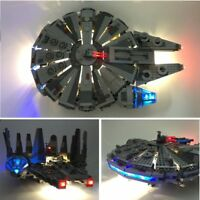 Led Light Kit For lego and lepin Star Wars The Force Awakens Millennium Space