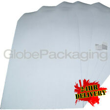 1000 x Quality C4/A4 Plain White SS Envelopes 88gsm