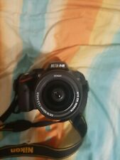 Camara reflex digital 24mp NIKON SLR D3200 + objetivo NIKON AF-S 18-55 mm