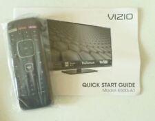 VIZIO Remote Control  and User's Manual for E550i-B1