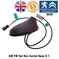 Peugeot 308 Aerial Antenna Base Radio AM FM Sat Nav Genuine New 9664508880