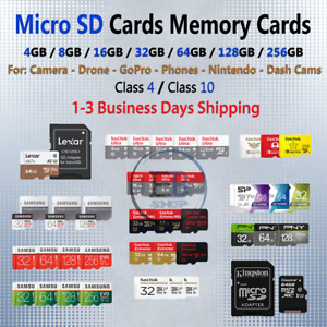Micro SD Card 4/8/16/32/64/128/256/512 GB Ultra Extreme Pro Evo Class lot Fast