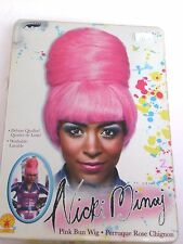 Nicki Minaj Pink Washable Bee Hive Wig Halloween Costume Rubies Trick Or Treat