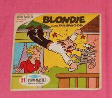 vintage BLONDIE AND DAGWOOD VIEW-MASTER REELS