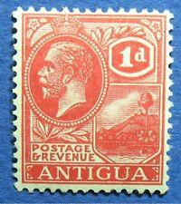 1929 ANTIGUA 1d SCOTT# 43a S.G.# 65 UNUSED                               CS04498