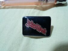 JUDAS PRIEST VINTAGE PIN BADGE, RARE AND BEAUTIFUL. GREAT CONDITION.