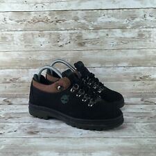 Timberland HIker Womens Size 6 Black Suede Low Top Terrain Trail Hiking Boots