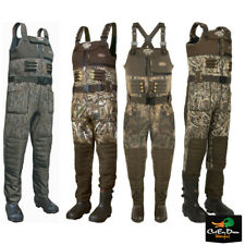 DRAKE WATERFOWL LST EQWADER WADING SYSTEM NEOPRENE 2.0 CAMO CHEST WADERS