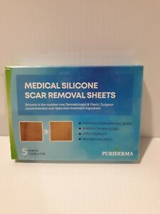 Puriderma Medical Silicone Scar Removal Sheets 5 Sheets