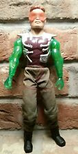 "RARE MAX STEEL VITRIOL 12"" ACTION FIGURE vtg 2001 european green arm Mattel 1998"