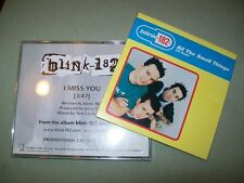 Blink 182         PROMO CD LOT          I Miss You  --  All The Small Things
