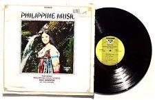 ERIC DIMSON: Philippine Music Volume 2 LP VICTOR TSP5027 PHILIPPINES Folk VG++