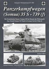 Tankograd 4020: Panzerkampfwagen (Somua) 35 S - 739(f)