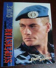 Jean-Claude Van Damme 1994 Upper Deck Street Fighter Movie Trading Card 41 Guile