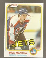 1981-82 O-Pee-Chee Moe Mantha #373 (Buy 5 $3.00 Cards Pick 2 Free)